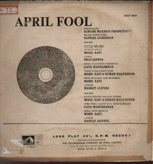 April Fool Bollywood Vinyl LP