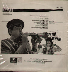 Diwana -- Raj Kapoor Blockbuster Bollywood Vinyl LP