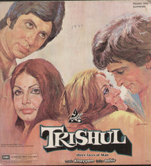 Trishul - Double Gatefold Bollywood Vinyl LP