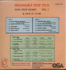 Bhangra Top Ten - Brand New Indian Vinyl LP