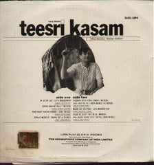 Teesri Kasam Indian Vinyl LP