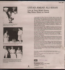 Ustad Amjad Ali Khan - New Indian Vinyl LP