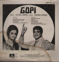 Gopi Bollywood Vinyl LP