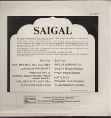 K.L Saigal - The Melody Of - Brand new Bollywood Vinyl LP