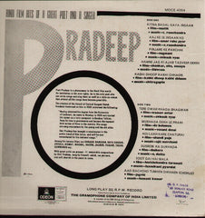 Pradeep - Hindi Hits Bollywood Vinyl LP