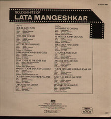 Lata Mangeshkar - Live in England - 1988 - Indian Vinyl LP