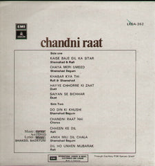 Chandni Raat Indian Vinyl LP