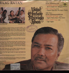 Ustad Ghulam Mustafa Khan - Indian Vinyl LP