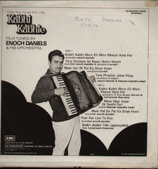 Kabhi Kabhie - Instrumentals by Enoch Indian Vinyl LP