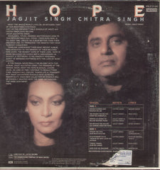 Jagjit & Chitra Singh - Hope - Brand New Indian Vinyl LP