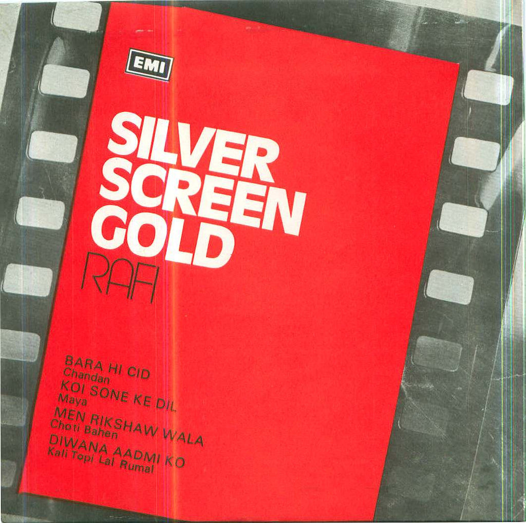 Mohd Rafi - Silver screen gold - New Indian Vinyl EP