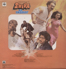 Shiva ka Insaaf - R D Burman Bollywood Vinyl LP