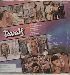 Tawaif 1980 Hindi Indian Vinyl LP