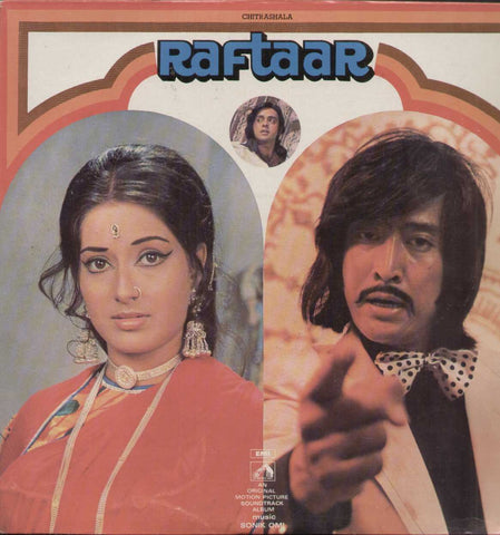Raftaar 1970 Hindi Film LP