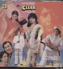 Clerk 1980 Hindi Indian Vinyl LP