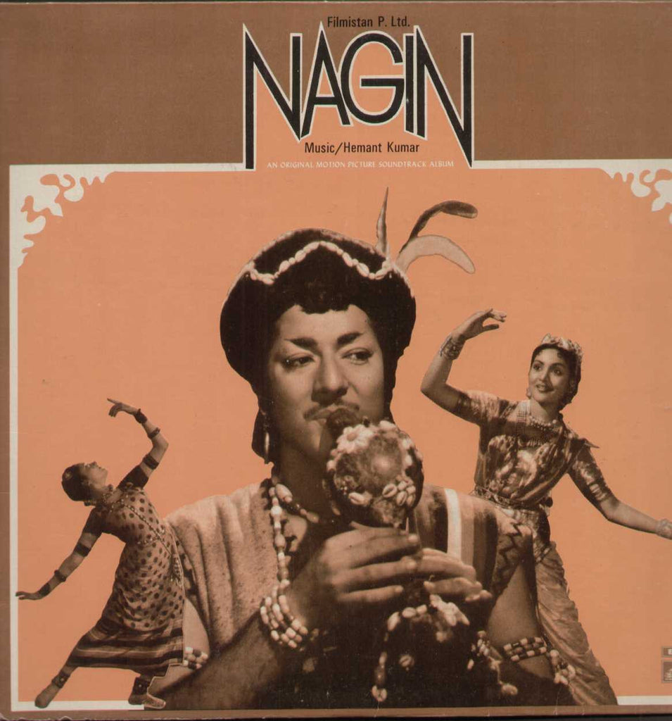 Nagin 1960 Hindi Indian Vinyl LP - First Press