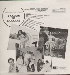 Yaadon Ki Baaraat 1970 Hindi Bollywood Vinyl LP