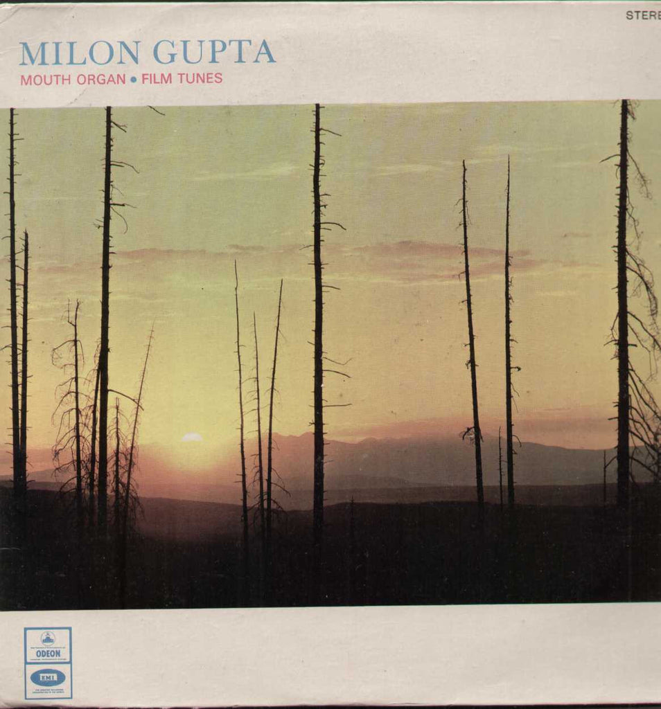 Milon Gupta Mouth Organ Hindi Indian Vinyl LP