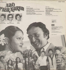 Aao Pyar Karen 1960 Hindi Film LP