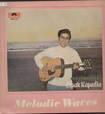 The Versatile Dipak Kapadia Hindi Instrumental Bollywood Vinyl LP