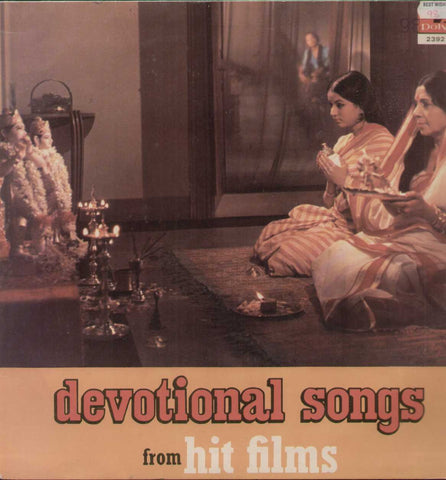 Devotional Songs From Hit Film Indian Vinyl LP