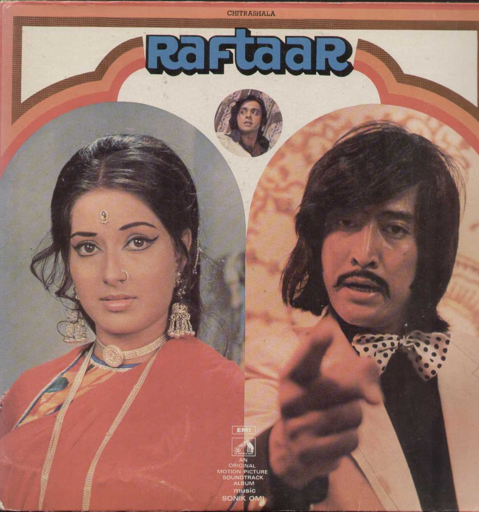 Raftaar 1970 Hindi Film LP- Frist Press