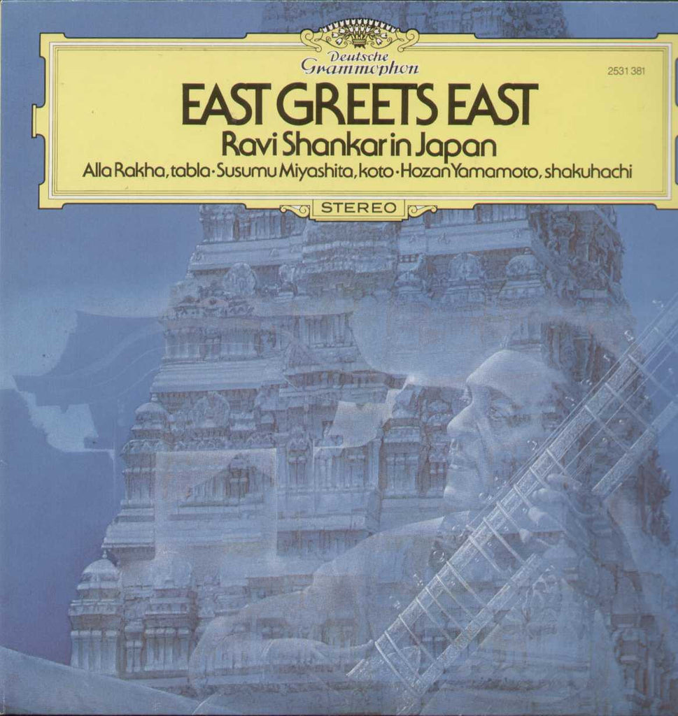 East Greets East Ravi Shankar In Japan Indian Vinyl LP