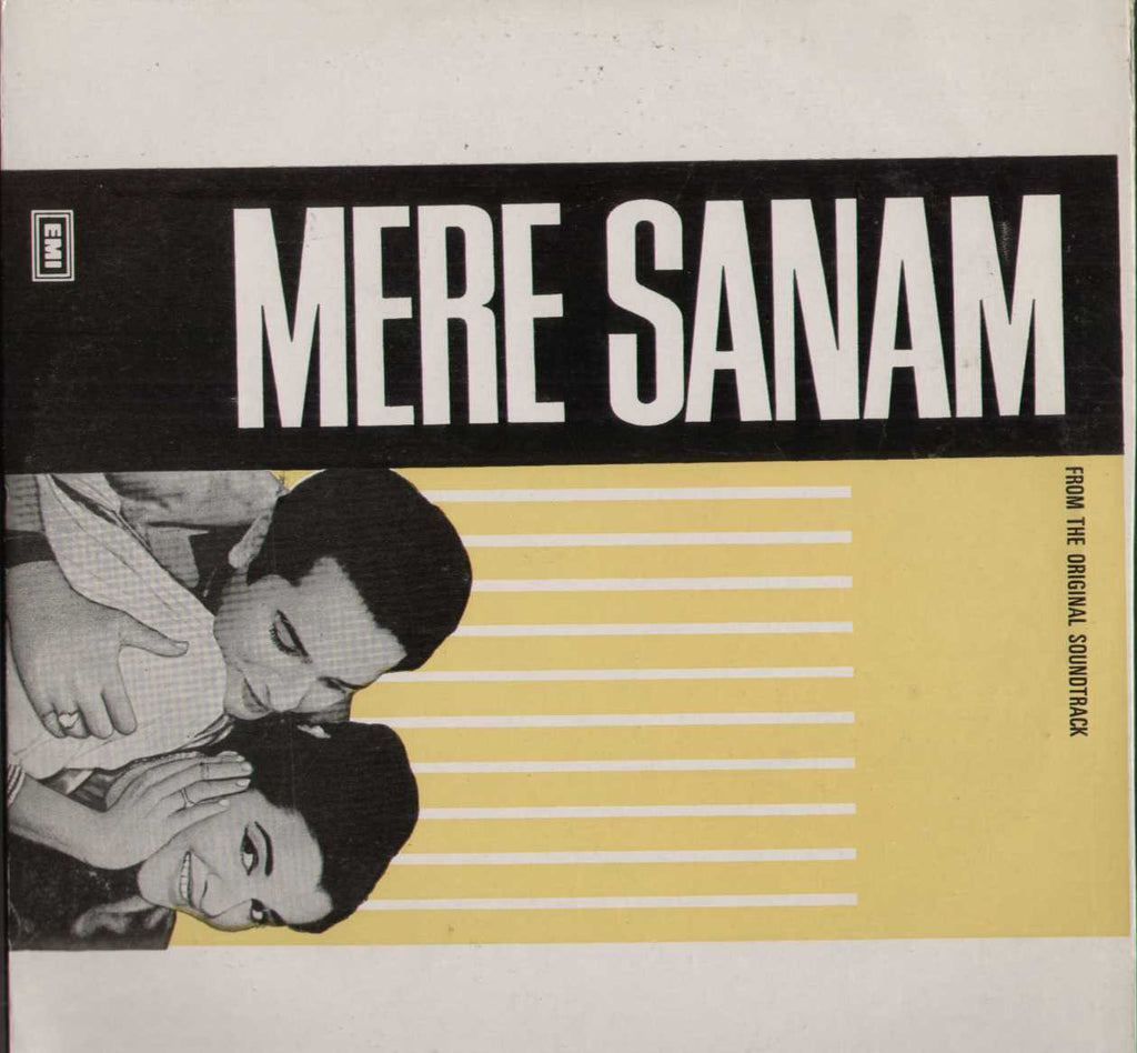 Mere Sanam 1960 Hindi Bollywood Vinyl LP