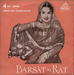 Barsat Ki Rat Hindi Bollywood Vinyl EP