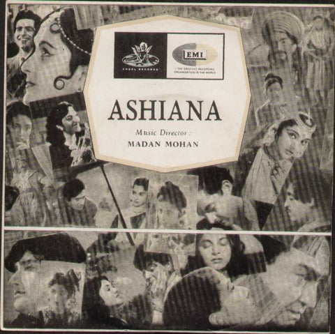 Ashiana Hindi Bollywood Vinyl EP