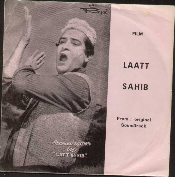Laatt Sahib Hindi Bollywood Vinyl EP