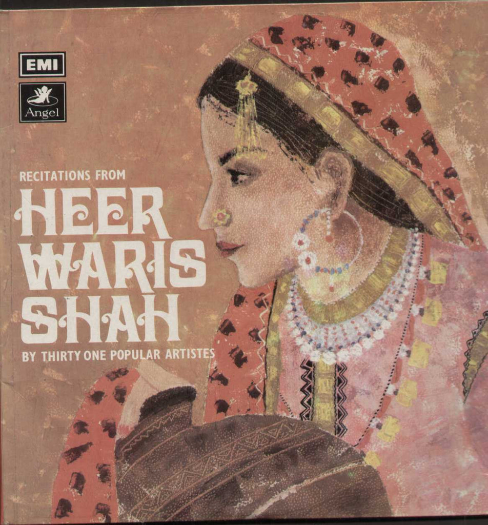 Heer Waris Shah Bollywood Vinyl LP