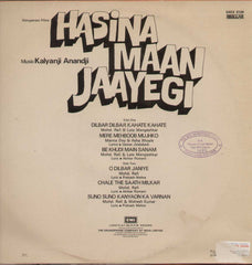 Hasina Maan Jaayegi 1999 Indian Vinyl LP