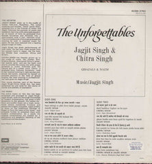 The Unforgettables Jagjit Singh And Chitra Singh Bollywood Vinyl LP