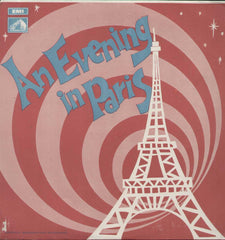 An Evening In Paris 1960 Hindi Bollywood Vinyl LP- Frist Press