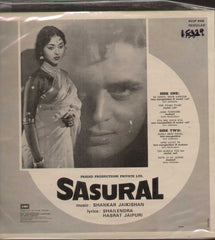 Sasural 1960 Hindi Bollywood Vinyl LP