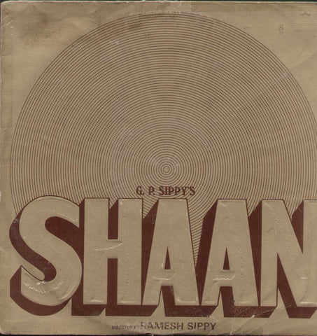 Shaan1970 Hindi Bollywood Vinyl LP