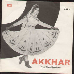 Akkhar Pakistani Bollywood Vinyl EP