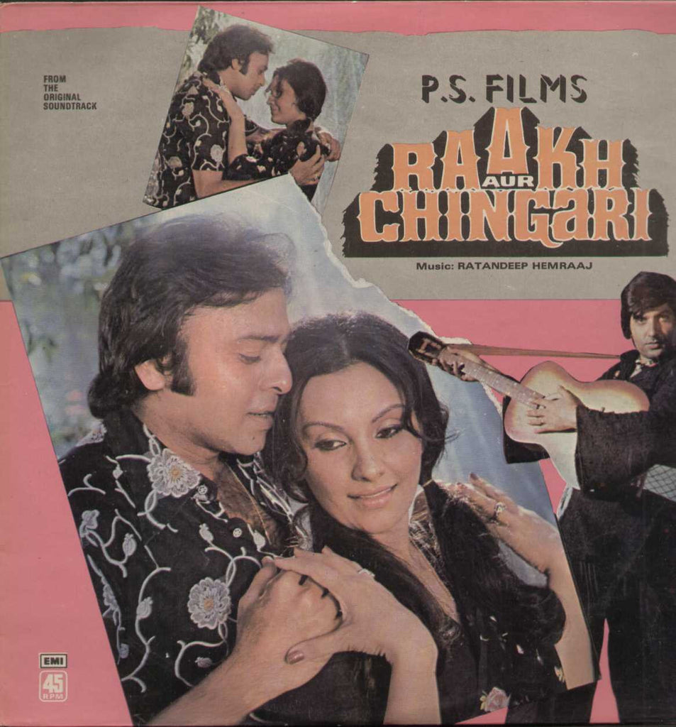 Raakh Aur Chingari 1970 Bollywood Vinyl LP