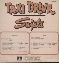 Taxi driver And Sujata 1970 Bollywood Vinyl LP