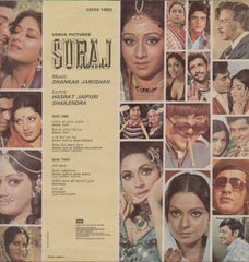 Suraj 1960 Bollywood Vinyl LP