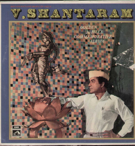 V. Shantaram Bollywood Vinyl LP- Frist Press