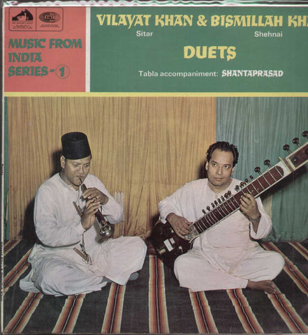 Vilayat Khan And Bismillah Khan Bollywood Vinyl LP