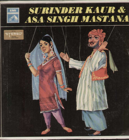 Surinder Kaur And Asa Singh Mastana Bollywood Vinyl LP