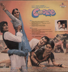 Coolie 1980 Bollywood Vinyl LP