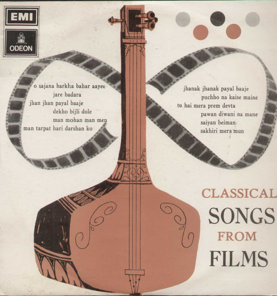 Classical Songs From Films Bollywood Vinyl LP