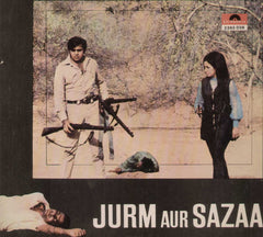 Jurm Aur Sazaa 1974 Bollywood Vinyl LP