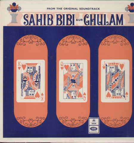 Sahib Bibi Aur Ghulam 1960 Bollywood Vinyl LP- First Press