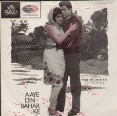 Aaye Din Bahar Ke Hindi Indian Vinyl EP