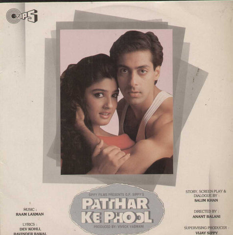 Patthar Ke Phool 1991 Bollywood Vinyl LP